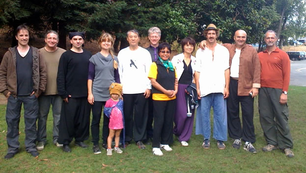 Sept 2010 Grandmaster Chen Yun Ching Visit With Hal Mosher